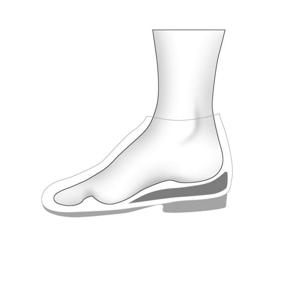 Korrektur-Schuheinlage