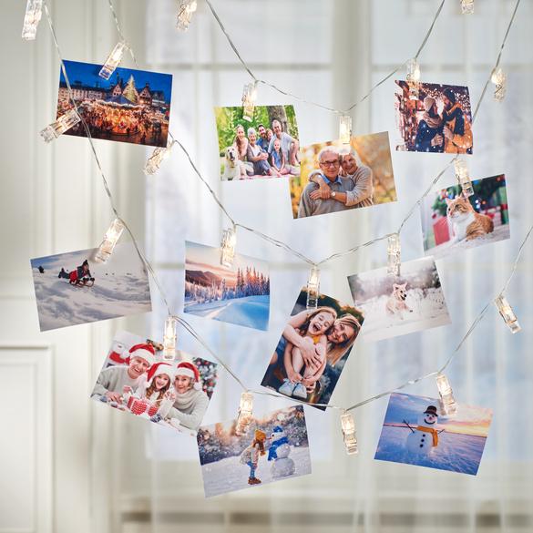 Foto-Lichterkette