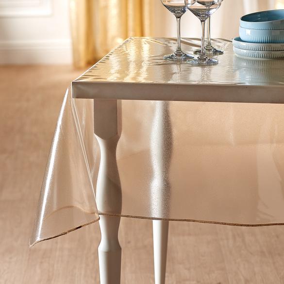 Glitter-Tischdecke, 130 x 160 cm