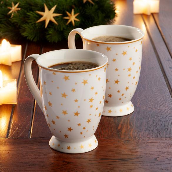 "Kaffeetasse ""Sternenzelt"" Basilico"
