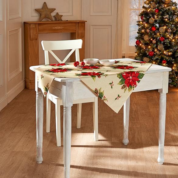"""Mitteldecke """"Weihnachtsstern"""" Casa Bonita 85 x 85 cm"""