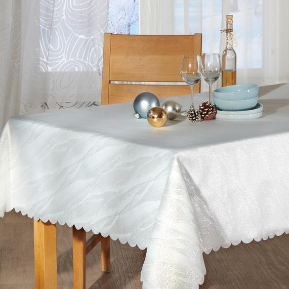 "Tischdecke ""Silberglanz"", 130 x 220 cm"