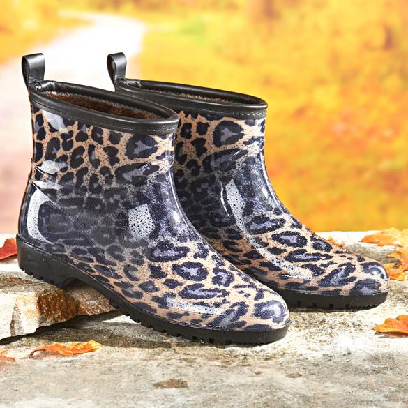 "Regenstiefel ""Sina"" leopard"