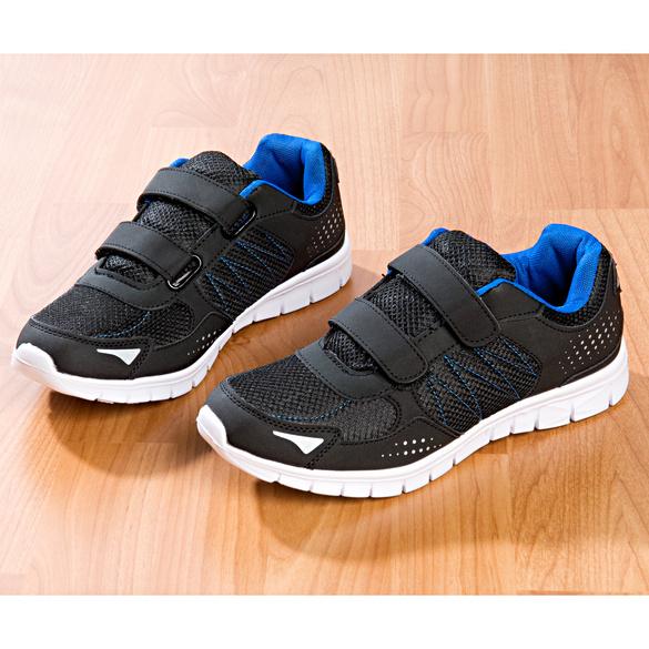 Sportschuh schwarz-blau