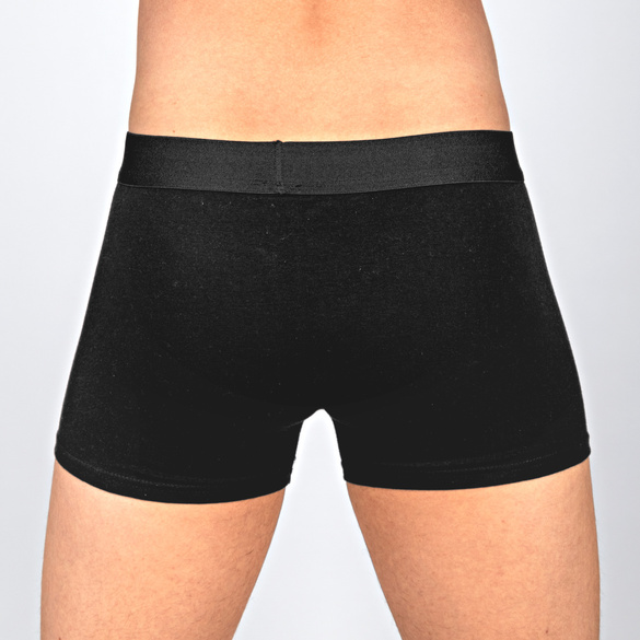 3er-Pack Boxershorts schwarz