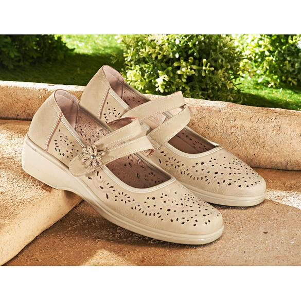 """Schuh """"Alva"""" beige"""