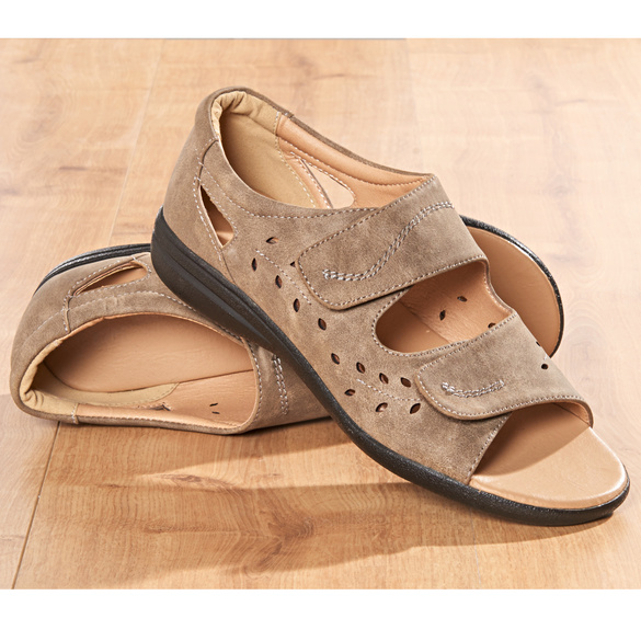 "Schuh ""Amy"" taupe"
