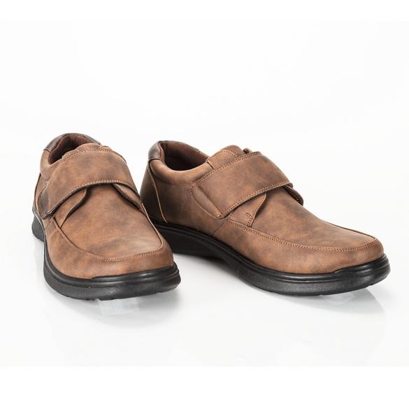 Schuh Erik braun Velours