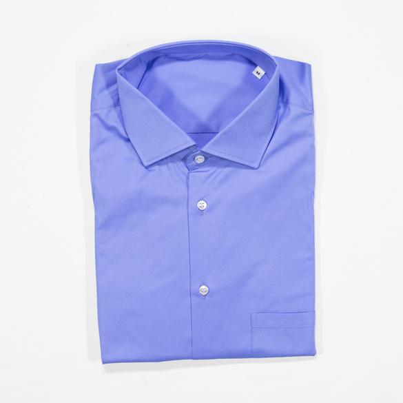 Hemd mittelblau