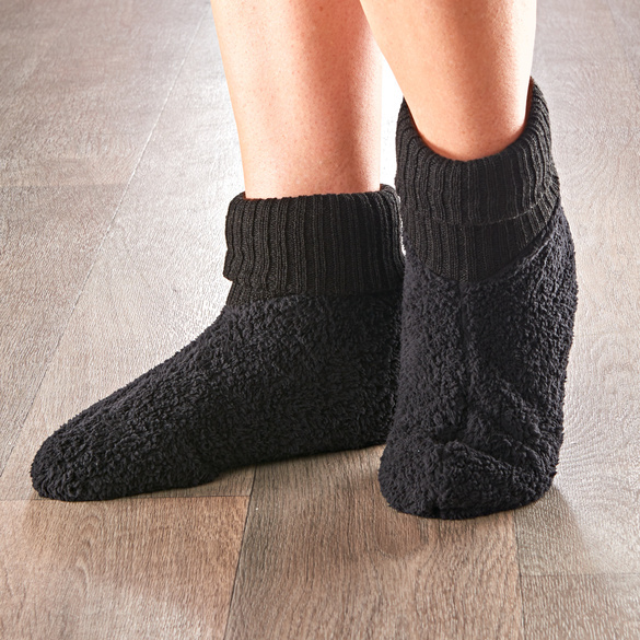 Fußwärmer schwarz