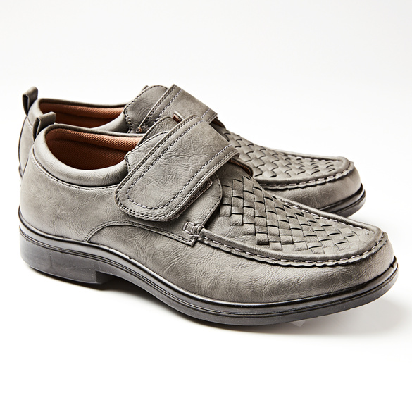 Schuh Nils, Velours grau