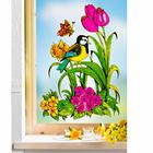 "Fensterbild ""Frühlingswiese"""