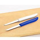 Küchenmesser blau + weiß, 2er-Set