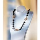 Halskette schwarz-gold