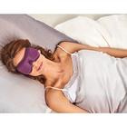 Schlafmaske lila