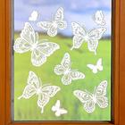 """Fensterbilder """"Schmetterlinge"""" Spitze, 10-tlg."""