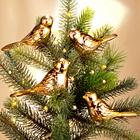 Dekovögel gold, 4er-Set