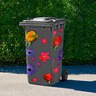 "Mülltonnenaufkleber ""Blüten"", 23-tlg."
