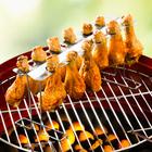 Grillständer für Geflügel