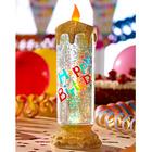 "LED-Kerze ""Happy Birthday"""