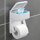 Toilettenpapierhalter 2-in-1