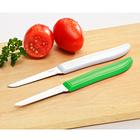 Küchenmesser weiß + grün, 2er-Set