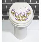 "WC-Deckel-Aufkleber ""Lavendel"""