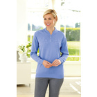 Bestickter Pullover, versch. Farben