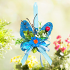 Sisal-Schmetterling blau