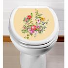"""WC-Aufkleber """"Blumen"""""""