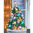 LED-Weihnachtsbaum mit Kätzchen