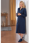 "Hausmantel ""Luxus"" blau"