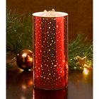 LED-Brunnenkerze rot