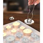 Teelichtgreifer und -löscher, 3-tlg.