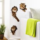 """Wand-Sticker """"Katzen"""", 3er-Set"""