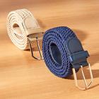 Flechtgürtel elastisch, 2er-Set