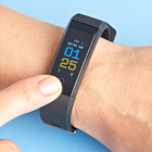Fitness-Uhr schwarz