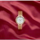 Armbanduhr goldfarben