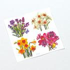 "Aufkleber ""Blumen"" 13er-Set"