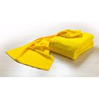 Mikrofaser-Handtuch gelb