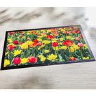 Fußmatte Tulpen, 40 x 70 cm