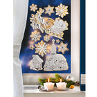 "Fensterbild ""Glanz & Glamour"", 12-tlg."
