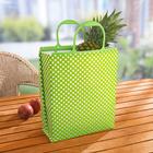 Kühltasche grün-silber