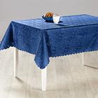 """Tischdecke """"Jacquard"""" blau, 130 x 160 cm"""