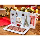 Weihnachtskarte für Gutscheine