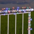 Solar-Blütenkette