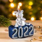 """Neujahrskerze 2022 """"Glücksschwein"""""""
