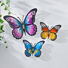 Metall-Schmetterling lila