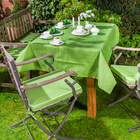 Tischdecke grün 130 x 160 cm