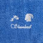 """Duschtuch """"Steinbock"""" blau"""